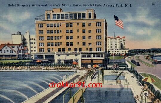 historic postcard images of asbury park nj. Black Bedroom Furniture Sets. Home Design Ideas