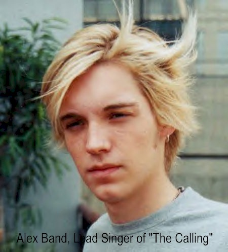 "Alex Band, Lead Singer of ""The Calling"""