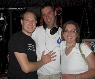 In the DJ Booth at Trikkx (I am in the Center), June 30, 2006