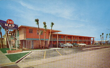 Hotel And Motel Postcards From Christopher Clay States A